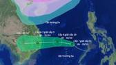 """Cơn bão Con voi kinh hoàng """"sắp trở lại"""" Nam Trung bộ"""