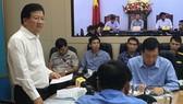 Bão nhỏ mà lúng túng, Phó Thủ tướng yêu cầu rút ngay kinh nghiệm