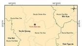 Động đất nhẹ tại Tuyên Quang