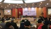 Diễn đàn hỗ trợ doanh nghiệp nông nghiệp công nghệ cao chiều 17-12. Ảnh: VĂN PHÚC
