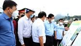 Phó Thủ tướng Lê Văn Thành kiểm tra công tác ứng phó mưa lũ tại thủy điện Hòa Bình