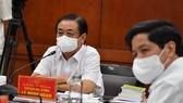 Bộ trưởng Bộ NN-PTNT Lê Minh Hoan chủ trì hội nghị sáng 7-8