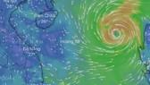 Áp thấp nhiệt đới gần biển Đông đã mạnh lên thành bão Côn Sơn