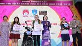 Thí sinh Nguyễn Ngọc Ánh đoạt giải nhất cuộc thi Chắp cánh ước mơ