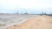 Bãi chứa tro xỉ than của Nhà máy Nhiệt điện Vĩnh Tân 2.