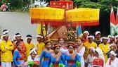 Đồng bào Chăm tỉnh Bình Thuận rộn ràng trong Lễ hội Katê 2020.