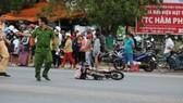 Vụ tai nạn khiến xe đạp điện của nữ sinh lớp 10 văng xa hàng chục mét