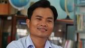 Thầy Võ Văn Cư, giáo viên Trường THPT Nguyễn Văn Trỗi, huyện Tánh Linh, tỉnh Bình Thuận.