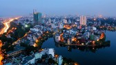 Hanoi at dusk. The investment and business environment have been improved to help develop the capital city. (Photo: VNA/VNS)