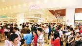 Aeon Mall in Tan Phu district, HCMC (Photo: SGGP)