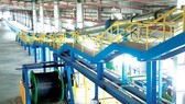 The underground cable production line of Tan Phu Trung Plant, HCMC
