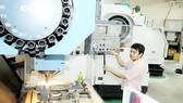 Mechanical molds manufacturing at Lap Phuc Mechanic Company (Photo: SGGP)