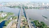 Binh Trieu bridge in HCMC northeast gateway (Photo: SGGP)
