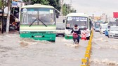 HCMC strives to terminate street flooding by 2020 (Photo: SGGP)