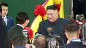 DPRK leader Kim Jong-un arrives in Vietnam on February 26. (Photo: VNA)