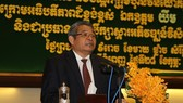 Cambodian Deputy Prime Minister Yim Chhayly (Source: VNA)