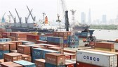 Containers gathered at Saigon Port, HCMC. Better infrastructure and facilities allow HCM City and seven other provinces in the southern economic region to gain competitive advantages to become the spearhead of the Vietnamese economy. (Photo: VNA/VNS)