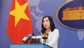 Spokeswoman of the Foreign Ministry Le Thi Thu Hang (Photo: VNA)