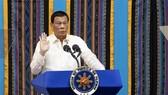 Philippine President Rodrigo Duterte speaks before the joint Congress in Manila on July 22 (Photo: AFP/VNA)