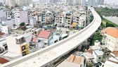 Ben Thanh-Suoi Tien metro line in Binh Thanh district (Photo: SGGP)