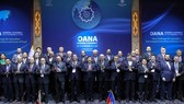 Participants at the 17th General Assembly of OANA, which is taking place in Seoul on November 7-8. (Photo: VNA)