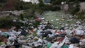 Plastic bags captured near the RCA entertainment district on Kamphaeng Phet 7 Road, Thailand (Photo: bangkokpost.com)