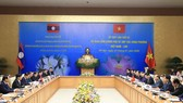 At the 42nd meeting of the Vietnam-Laos Intergovenrmental Committee (Photo: VNA)