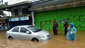 Flooding in Jakarta after heavy rain (Photo: AFP)