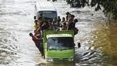 In Indonesia (Photo: Xinhua)