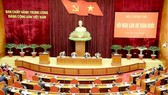 A view of the national cadres conference in Hanoi on April 23 (Photo: VNA)