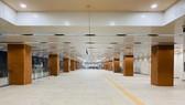The B1 basement of Opera House Metro Station has been built (Photo: SGGP)