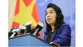 Foreign Ministry's spokeswoman Le Thi Thu Hang (Photo: VNA)