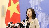 Foreign Ministry Spokeswoman Le Thi Thu Hang speaks at the regular press conference on July 16 (Photo: VNA)