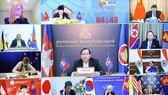 Cambodian Deputy Prime Minister and Minister of Foreign Affairs and International Cooperation Prak Sokhonn (centre) at the 27th ASEAN Regional Forum (Source: information.gov.kh)