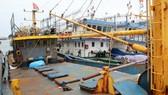 Vỏ thép của một số tàu 67 Bình Định bị rỉ sét vì thép kém chất lượng