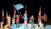 Chủ nhà Malaysia tại lễ nhận cờ tổ chức SEA Games 29- 2017.               Ảnh: T.L