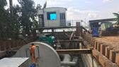 Hệ thống máy bơm sẵn sàng bơm chống ngập đường Nguyễn Hữu Cảnh.