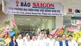 Ra mắt Văn phòng Đại diện Báo  Sài Gòn Giải Phóng khu vực Đông Nam bộ