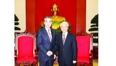 Tổng Bí thư Nguyễn Phú Trọng tiếp Bộ trưởng  Bộ Ngoại giao  Trung Quốc  Vương Nghị  sang thăm  chính thức  Việt Nam
