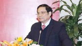 Đồng chí Phạm Minh Chính, Ủy viên Bộ Chính trị, Bí thư Trung ương Đảng, Trưởng Ban Tổ chức Trung ương. Ảnh: Phương Hoa/TTXVN