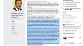 Thông điệp qua Facebook của Thủ tướng Hun Sen