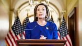 Chủ tịch Hạ viện Mỹ Nancy Pelosi thông báo sẽ tiến hành điều tra luận tội  đối với Tổng thống Donald Trump.  Ảnh: Getty Images