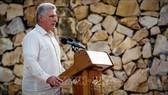 Chủ tịch Hội đồng Bộ trưởng và Hội đồng Nhà nước Cuba Miguel Diaz-Canel. Ảnh: AFP/TTXVN