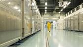 Bên trong cơ sở làm giàu urani Fordow ở Qom, miền Bắc Iran ngày 6-11-2019. Ảnh: AFP/TTXVN