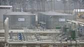 Đường ống dẫn khí đốt Dòng chảy phương Bắc 2 tại Lubmin, Đức. Ảnh: AFP/TTXVN