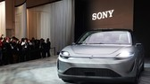 Sony trình làng xe điện Vision-S tại Triển lãm điện tử tiêu dùng (CES) 2020 diễn ra ở Las Vegas, Mỹ.