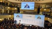 Toàn cảnh phiên khai mạc Hội nghị An ninh Munich lần thứ 56 tại thành phố Munich, Đức tối 14-2-2020. Ảnh: AFP/TTXVN