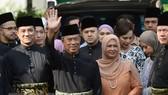 Ông Muhyiddin Yassin (thứ 2, trái, phía trước) tới lễ nhậm chức Thủ tướng Malaysia tại Kuala Lumpur, ngày 1-3. Ảnh: THX/TTXVN