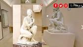 Một góc Bảo tàng Louvre ở Paris trong tour tham quan ảo
