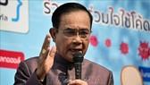 Thủ tướng Thái Lan Prayut Chan-o-cha phát biểu tại cuộc họp ở Bangkok ngày 10-3-2020. Ảnh: AFP/TTXVN